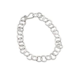 handmade silver chain bracelet £70