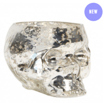 Paperchase Gold Glass Skull Decoration - £8 http://www.paperchase.co.uk/gifts/home-and-kitchen-gifts/halloween/gold-skull-decoration.html