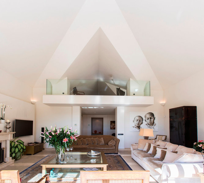Living Room of Spectacular villa in Benahavis