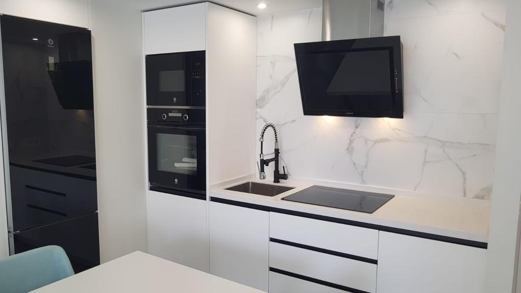 kitchen of apartment in marbella center