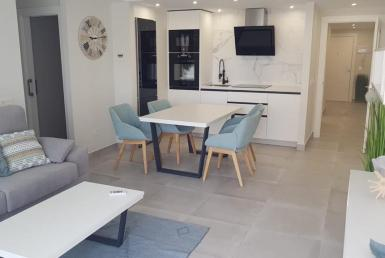 Dining room of apartment in marbella center