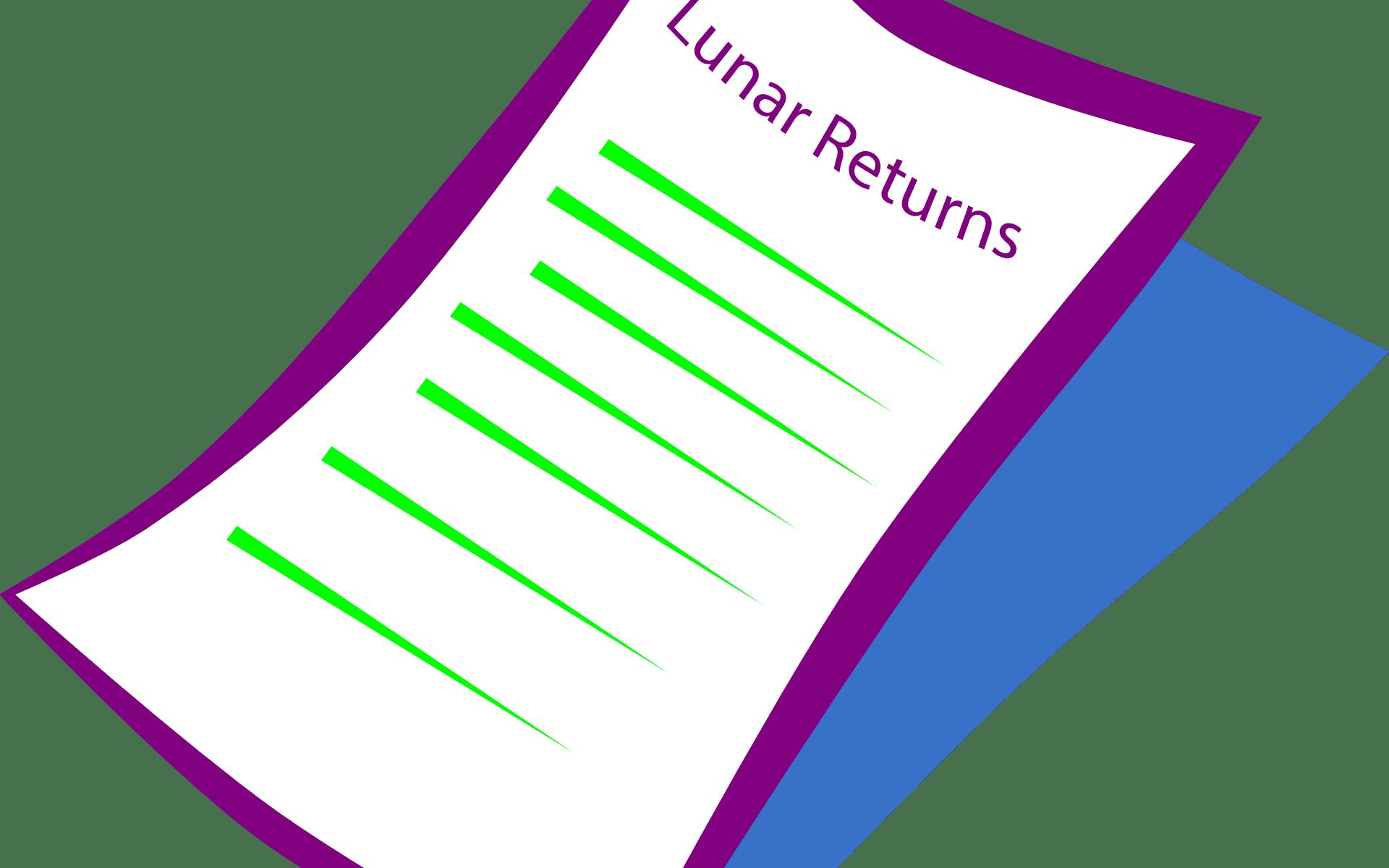 Lunar Returns Report