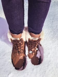 Ugg Adirondack II Waterproof Snow Boots | A Survival Guide to Winter Travel | What to Pack for Cold Weather - 7 Essential Tips to Stay Warm & Fashionable| www.chloestravelogue.com