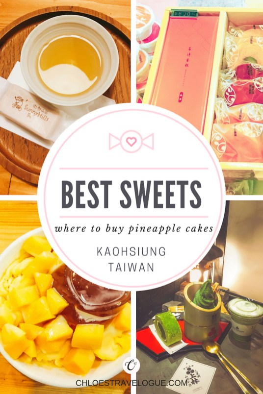 Best Sweets in Kaohsiung, Taiwan | Pineapple Cakes & Alternatives for Souvenir, Shaved Ice, Mochi & Matcha Desserts | #Pineapplecake #Taiwan #WhattobuyinTaiwan