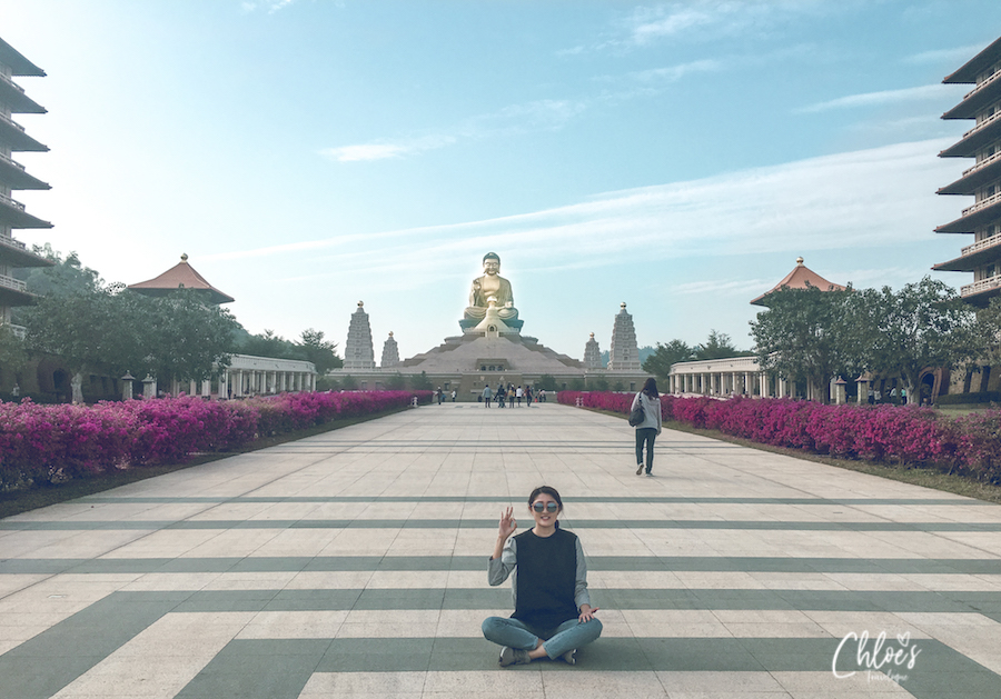 Kaohsiung Itinerary Day 3: See the Biggest & Tallest Buddha Statues at Fo Guang Shan | #Kaohsiung #Taiwan #FoGuangShan #Buddha
