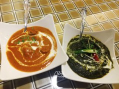 Kaohsiung Maharaja Indian Food - Butter Chicken Curry Spinach Curry