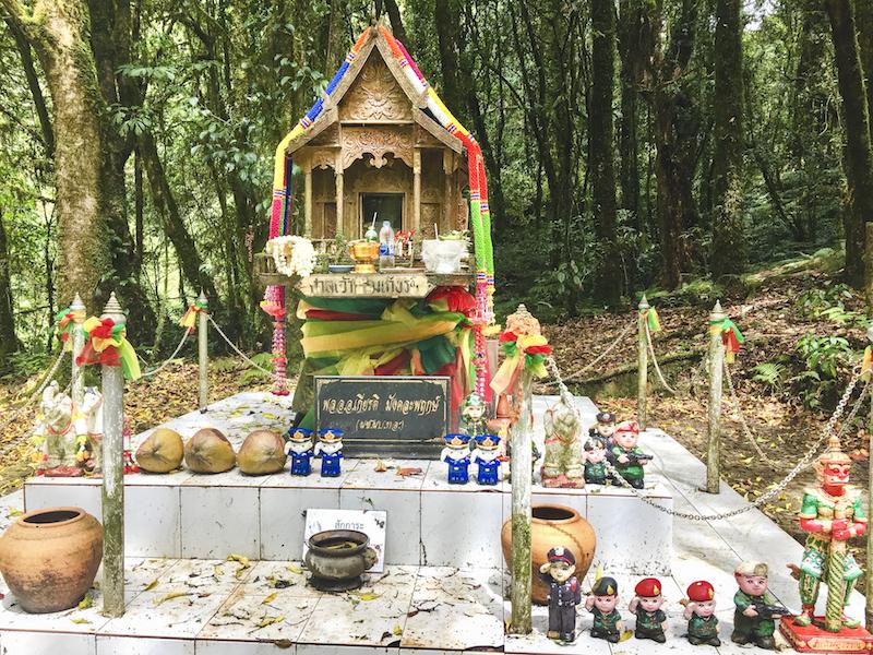 Doi Inthanon Tour - King Inthanon Memorial Shrine | www.chloestravelogue.com #ChiangMai #Thailand #DoiInthanon #NationalPark #HighestPointinThailand #Daytrip