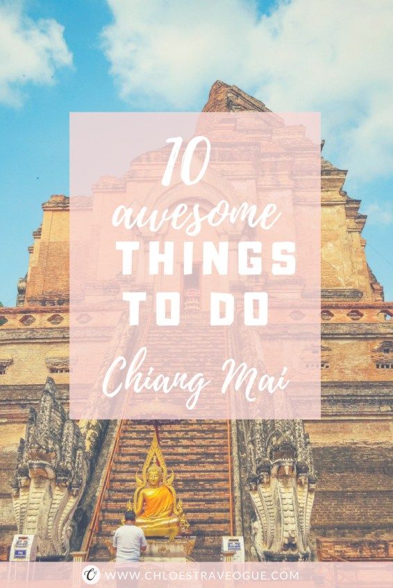 Planning a trip to Northern Thailand? Check out this 10 Fun Things to Do in Chiang Mai   Top 4 Chiang Mai Temples and beyond   #ChiangMai #Thailand #ChiangMaiTemples #nightbazaar #ChiangMaiMarket #ChiangMaifood #ChiangMaiCafe #satanlatte #KhaoSoi