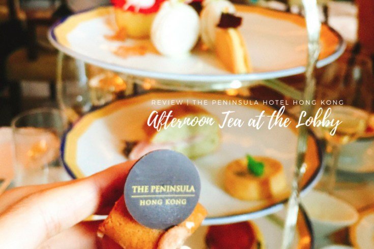Afternoon Tea @The Peninsula Hong Kong | In Search of the Best Afternoon Tea Hong Kong, I visited the Lobby at the iconic five-star hotel. Read all about my experience, why I chose the Peninsula and what you need to know before sipping your afternoon tea. #afternoontea #peninsula #peninsulahongkong #hongkong #hongkongfood #discoverhongkong