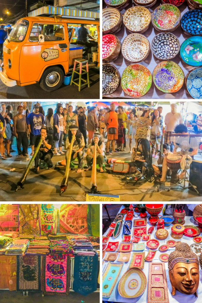Things to Do in Chiang Mai - Hunt for Souvenirs at the Sunday Market   www.chloestravelogue.com #Thailand #ChiangMai #ThailandInsider #SundayMarket #StreetFood #ThaiFood #Souvenirs