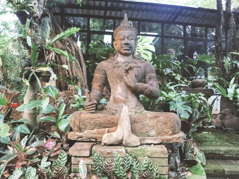 Things to Do in Chiang Mai   Visit the Serene Terra Cotta Garden   www.chloestravelogue.com #ChiangMai #Thailand #TerraCotta #SereneGarden #CafeCulture #ThailandInsider