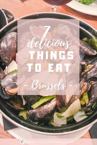 7 Things to Eat in Brussels - Where to Eat   #BelgianPralines #BelgianChocolate #BelgianBeer #BelgianTrappistBeer #BestWaffles #MoulesFrites #BestFrites #BelgianMeatballs #Brussels #Bruxelles #Europe #Food #Belgium #NationalDish   www.chloestravelogue.com