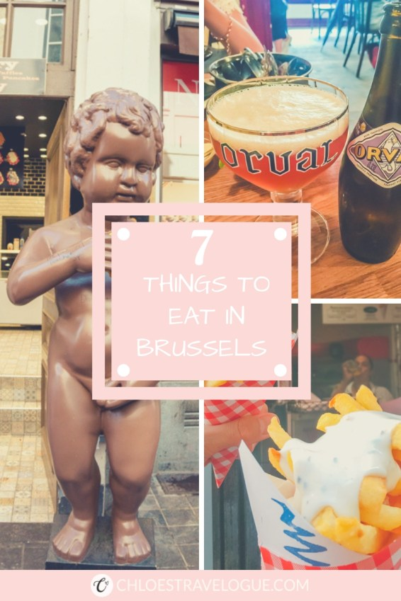 7 Things to eat in Brussels