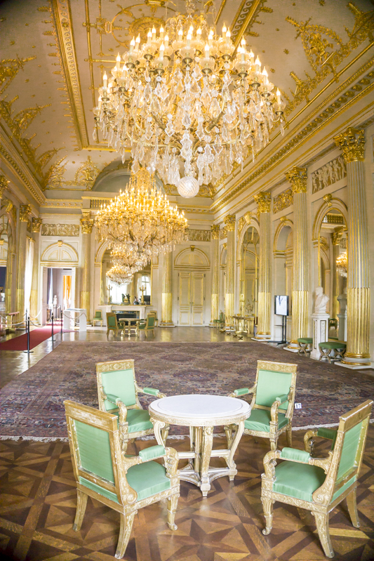 Summer in Brussels: A Photo Guide to the Royal Palace of Brussels | Empire Room
