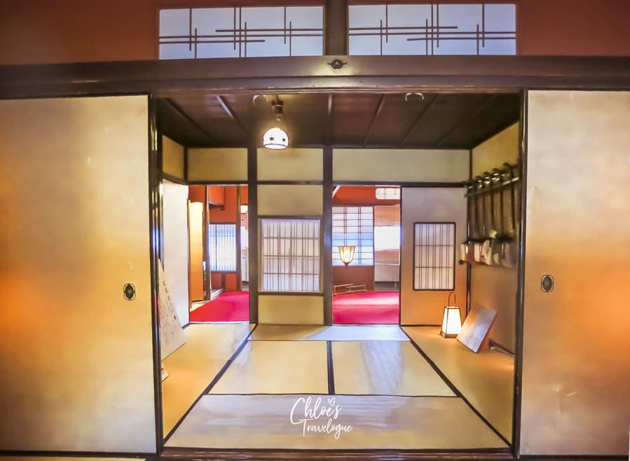 Higashi Chaya (Kanazawa Geisha District) | An intimate visit behind the closed doors of Japanese edo-period geisha house, Shima Teahouse  | #Kanazawa #higashichaya #Geisha #shima #irori #japanesedessert #goldleaf | chloestravelogue.com