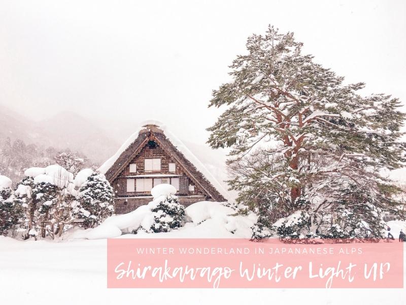 Winter in Japan | Shirakawago Winter Light Up Festival