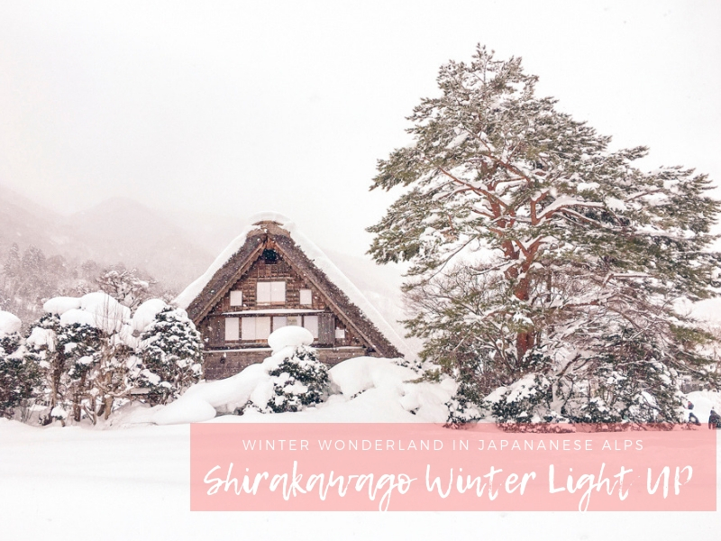 Winter in Japan | Shirakawago Winter Light Up Festival