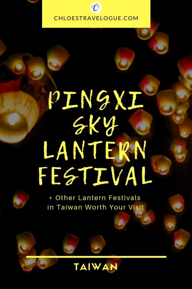 Pingxi Lantern Festival | Festival dates, Taipei to Shifen transportation, How to release a sky lantern | Plus, other famous lantern festivals in Taiwan | chloestravelogue.com #Pingxi #skylanternfestival #taiwan #Shifen #Tangled