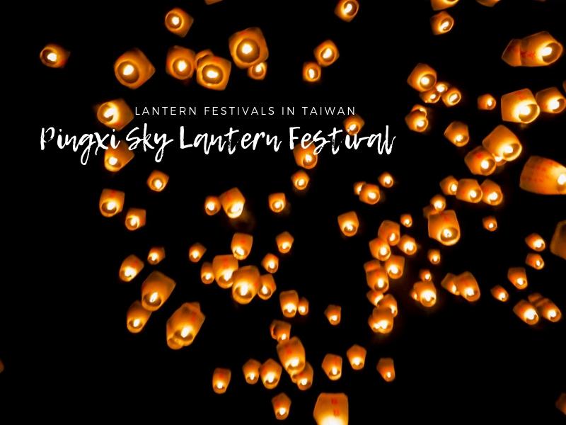 Pingxi Lantern Festival in Taiwan