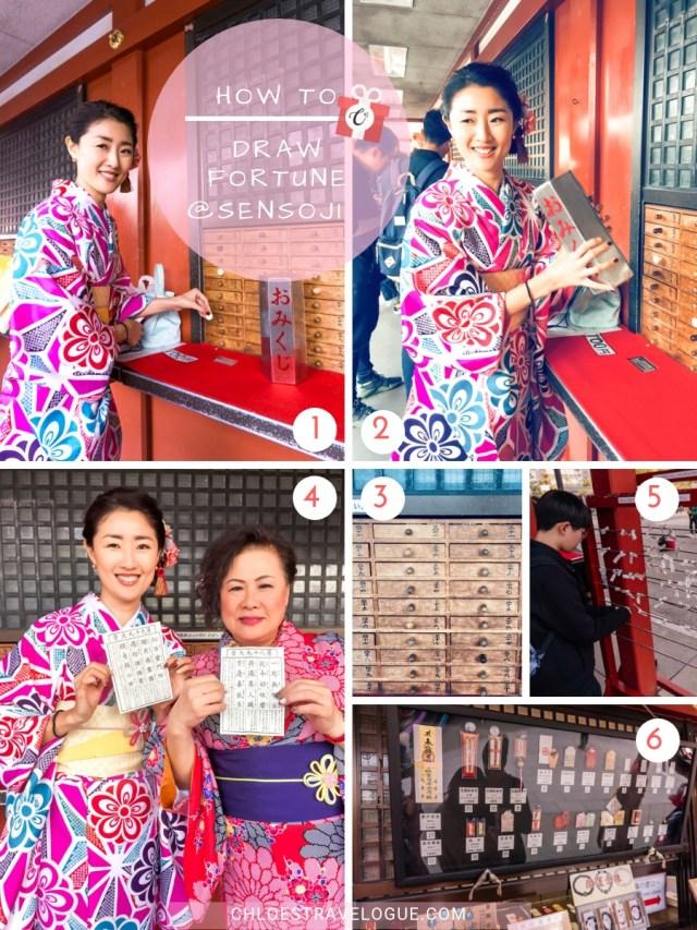Things to Do in Asakusa   How to Draw Forunte at Sensoji Temple   #Asakusa #Tokyo #ThingstoDoinAsakusa #KaminarimonGate #Nakamise #Sensoji
