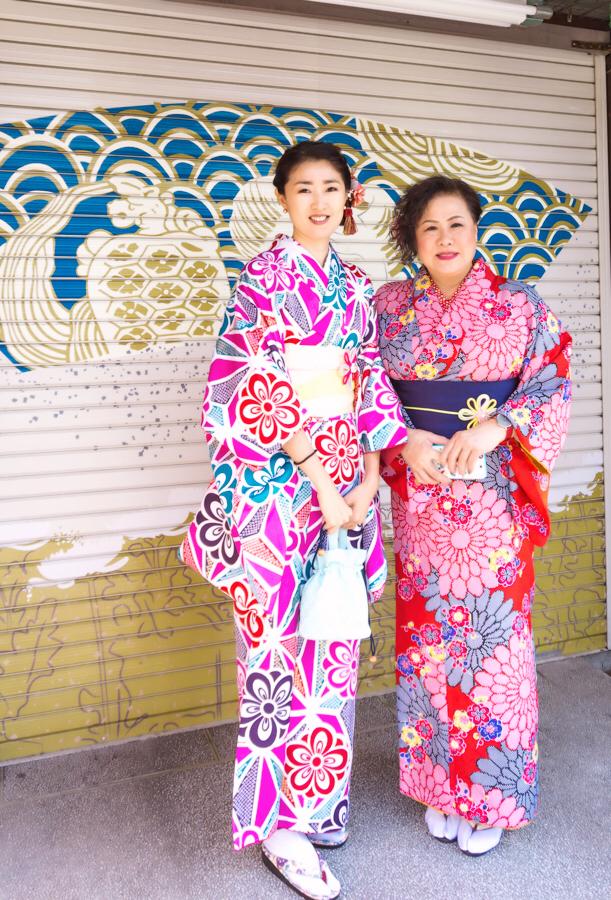 Things to Do in Asakusa | Rent a Kimono | #Asakusa #Tokyo #ThingstoDoinAsakusa #kimono #NakamiseStreet #NakamiseDori