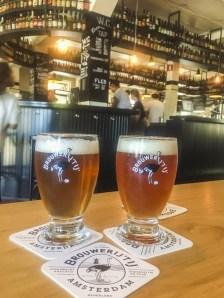 Amsterdam Itinerary Day 4 (Bucket List) | Taste Dutch Craft Beer at a Windmill Brewery - Brouwerij 't IJ | #Amsterdam #Holland #AmsterdamItinerary #AmsterdamThingstoDo #AmsterdamBucketList #iAmsterdam #DutchBeer #DutchFood