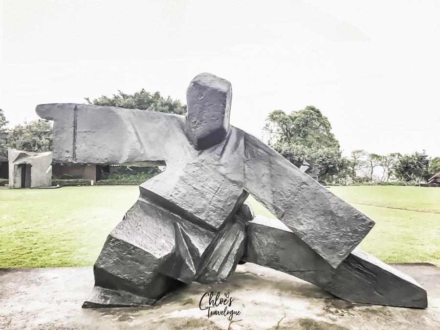 Day trip from Taipei - Juming Museum | Ju Ming Sculpture Series - Taichi Single Whip (1986) | #Taipei #TaipeiDayTrips #Juming #JumingMuseum #Taiwan #Taichi #Sculpture