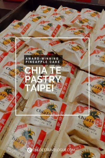 Best Pineapple Cake Taiwan - Chi Te Taipei Pineapple Pastry