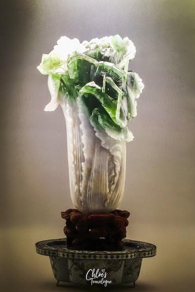 Taipei Itinerary 3 Days - National Palace Museum Jade Cabbage