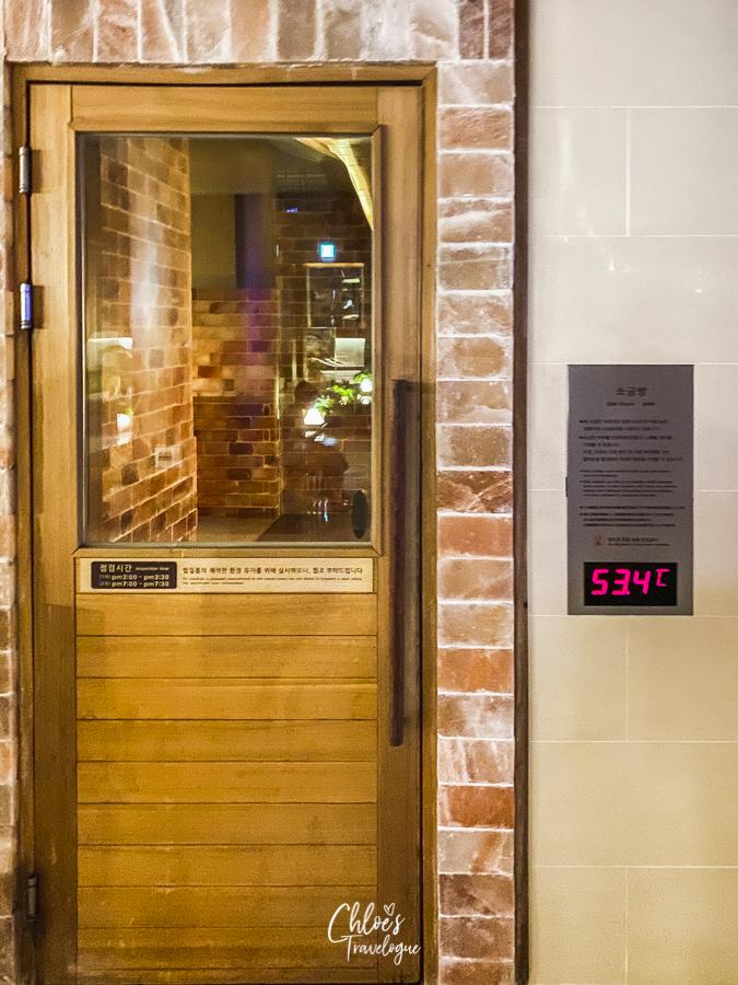 Spa Land Centum City Busan | Korea's Best Luxury Jimjilbang (Korean sauna and spa) - Salt Room |#SpaLandBusan #SpaLandCentumCity #CentumCityBusan #luxuryspa #jimjilbang #jjimjilbang #Busan #Korea #ThingsToDoinBusan #BusaninWinter #AsiaTravel #TravelKorea