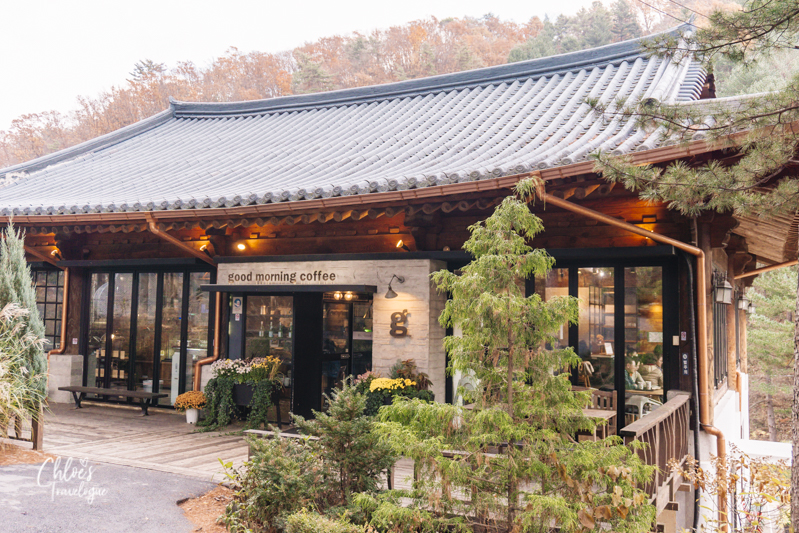 Garden of Morning Calm: Hanok Coffee House | #GardenofMorningCalm #AutumninKorea #Korea #Gapyeong