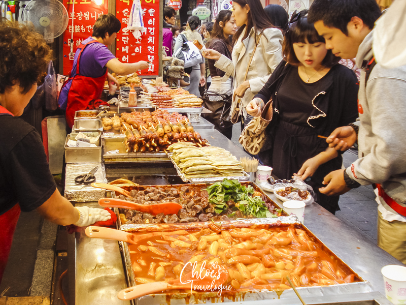 15 Awesome Things to Do in Myeongdong, Seoul | #10 Gobble up Myeongdong Street Food | #Myeongdong #MyeongdongStreetFood #KoreanFood