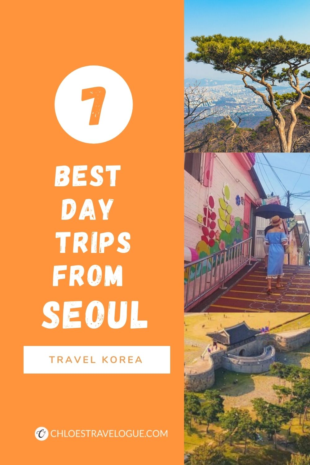 7 Best Day Trips from Seoul | #SeoulDayTrips #DayTripsfromSeoul #VisitKorea #TravelSeoul