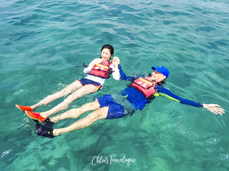Best Beaches in Xiao Liuqiu Island, Taiwan: Kayaking at ChungAu Beach | #Xiaoliuqiu #liuqiu #lambai #TravelTaiwan #Beachvacation #SeaTurtles