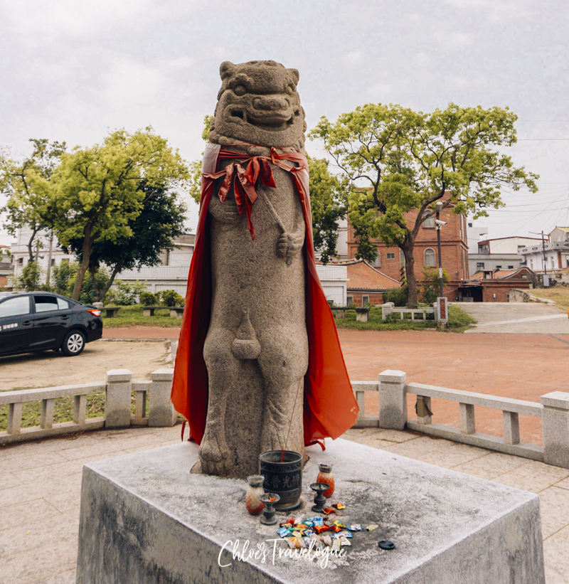 What to do in Kinmen Island: Scavenger hunt wind lions | Kinmen Travel Guide: Taiwan's one-of-a-kind island filled with war history, rich culture, and ancient architecture. | #KinmenIsland #KinmenTaiwan #traveltaiwan #travelasia #金門