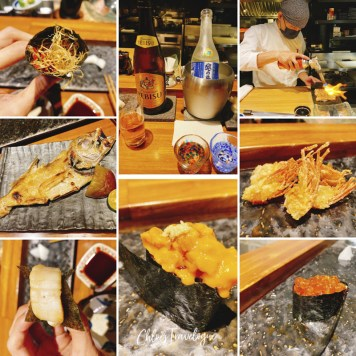 A Local's Guide to Yong Kang Street Taipei: the best of YongKang Street Food | 8. You Sushi: Japanese omakase restaurant | #Yongkangstreet #taipeitravel #TaiwanTrip #TaiwaneseFood