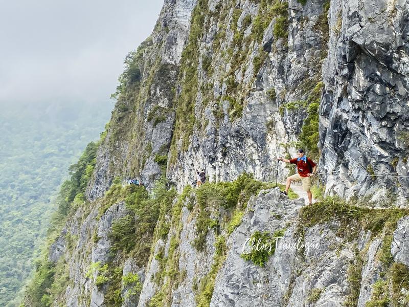 9 Best Taroko Gorge Trails for Beginners (Taroko National Park in Taiwan) | 2. Zhuilu Old Trail | #ZhuiluOldTrail #TarokoNationalPark #TarokoGorge #HikingTravel #TravelTaiwan