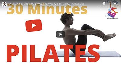 Yoga Péda_Vidéo Youtube 30 minutes de pilates pour tonifier le corps niveau débutant