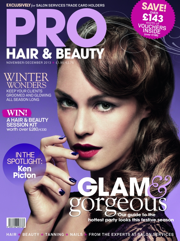 Makeup Artist Claire Ray for PRO Hair Beauty Magazine