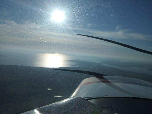Jezioro Śniardwy na horyzoncie