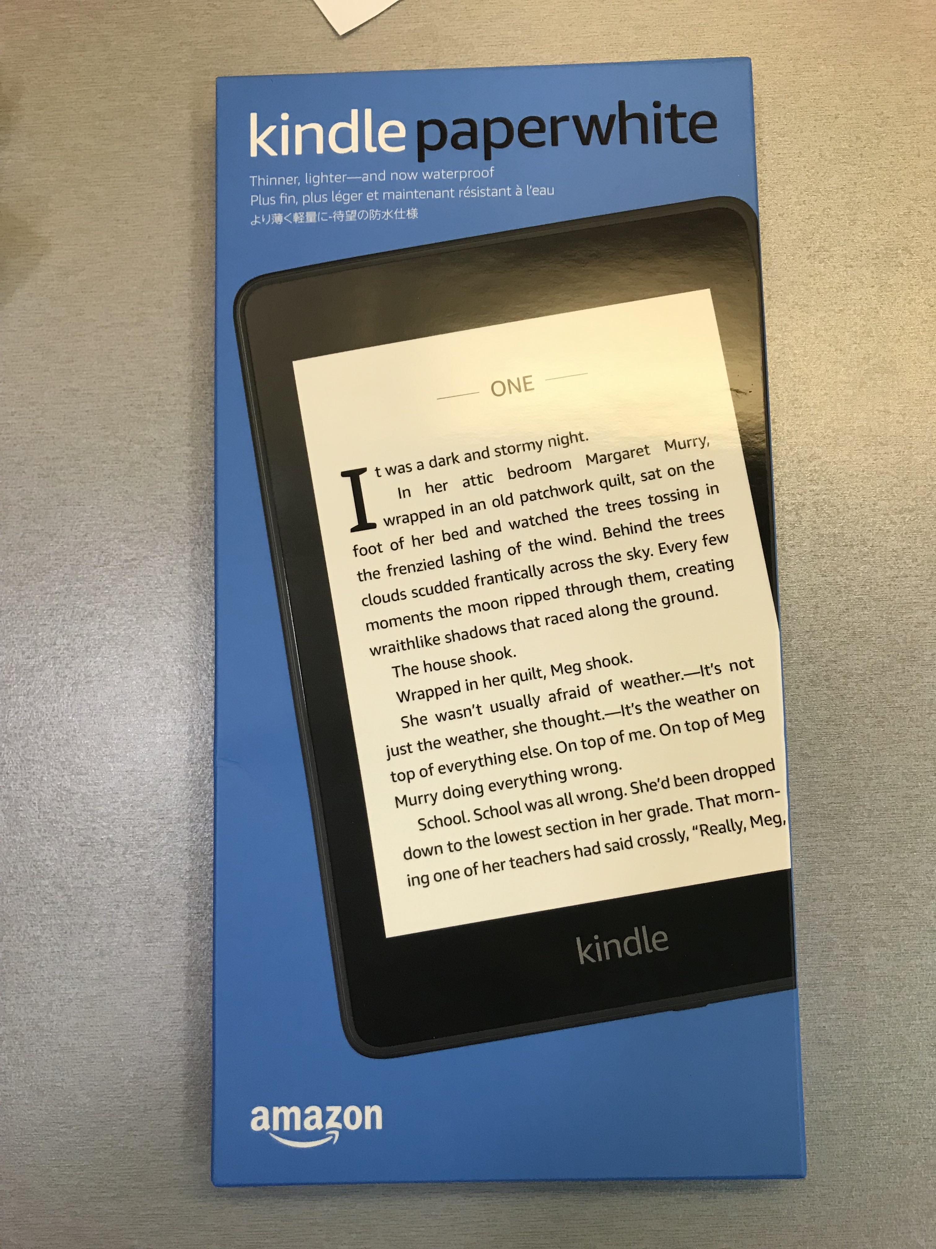 電子書閱讀器-kindle paperwhite初體驗 – CHnieh