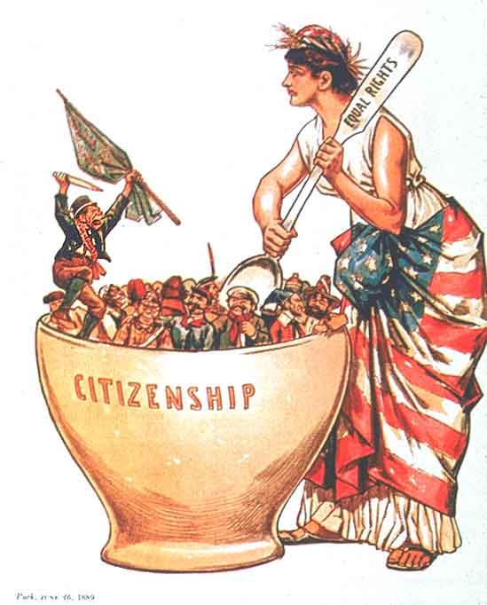 Melting Pot stirred by Liberty