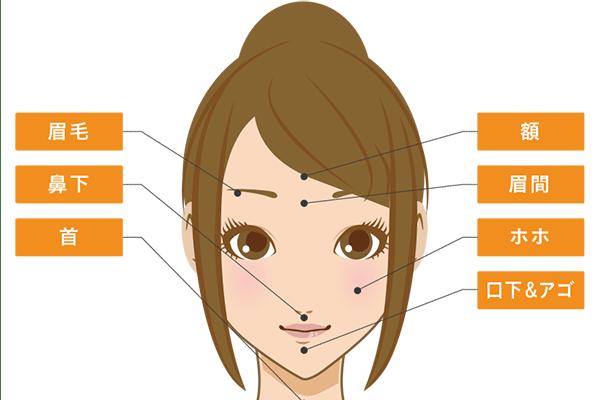 眉毛のセルフ処理方法と施術可能な脱毛サロン・クリニック