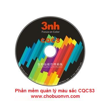 Phụ kiện máy so màu - Phần mềm quản lý màu sắc CQCS3