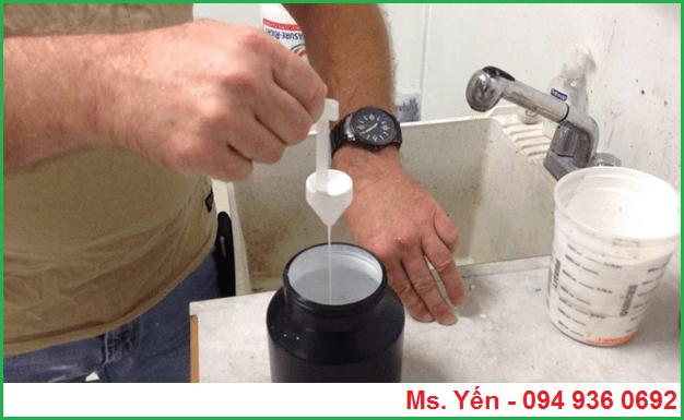 Cách sử dụng của cốc đo độ nhớt dùng trong ngành sơn mực in
