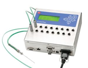 Thiết bị thẩm định nhanh nhiệt độ thực phẩm Eval Flex đo chính xác tới 0.05 độ C, đo nhanh nhiệt độ và đọc kết quả trực tiếp trên màn hình mà không cần máy tính hoặc bàn đọc.