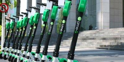 Los scooters eléctricos de Lime en Chile
