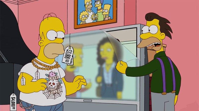 Satisfacción garantizada en Los Simpson