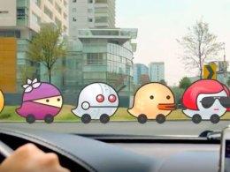 Waze es útil para evitar los tacos en Santiago