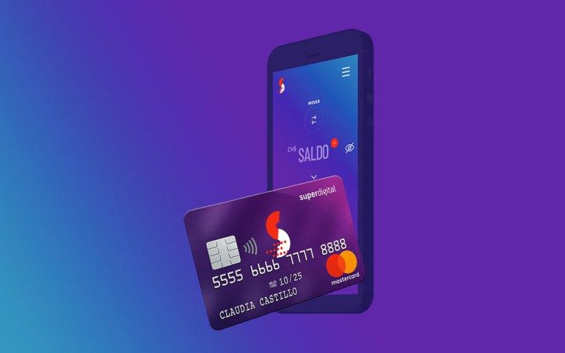 La tarjeta Superdigital de Banco Santander Chile